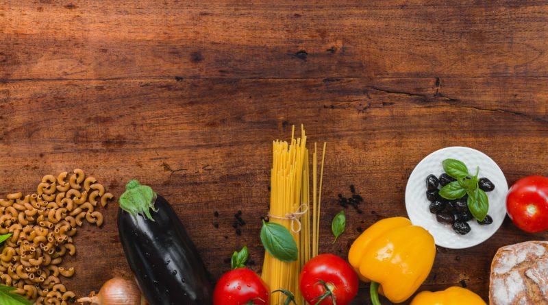 warzywa i makarony