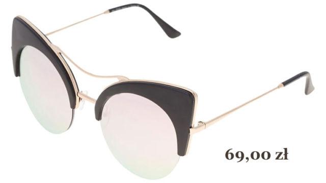 damskie okulary przeciwsłoneczne light pink