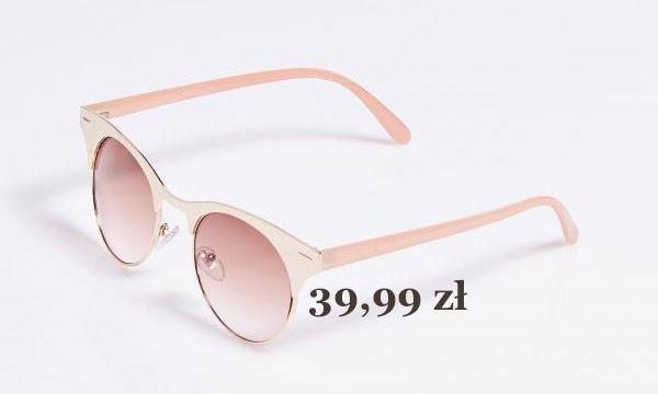 modne damskie okulary przeciwsłoneczne