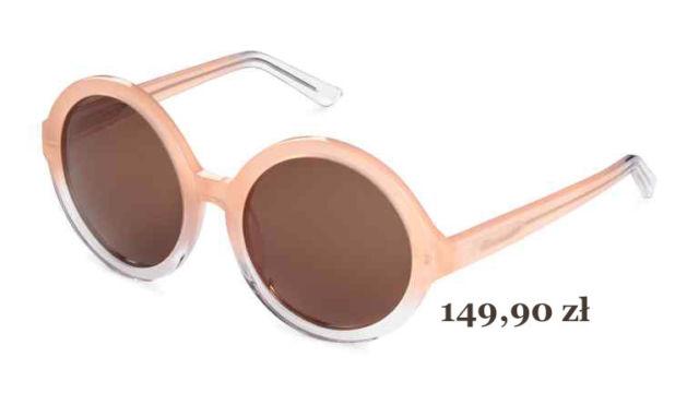 dwukolorowe okulary na lato 2016