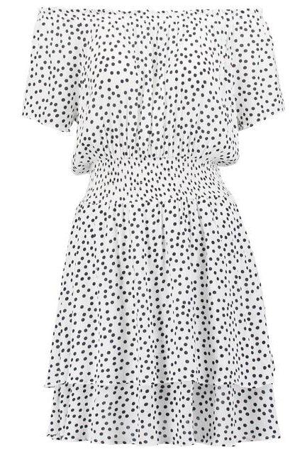 sukienka w kropki na lato