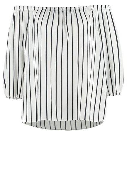 bluzka w paski na lato