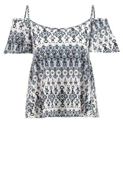 bluzka we wzory